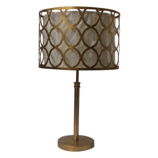 Modern Gold Metal Table Lamp