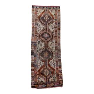 Vintage Turkish Oushak Runner - 2′1″ × 6′1″