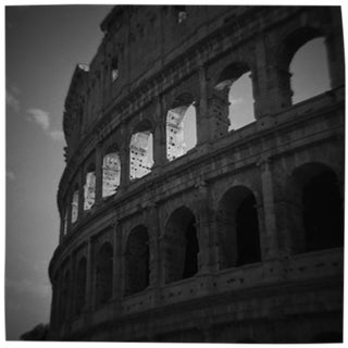 """Colosseum"" Black & White Photograph"