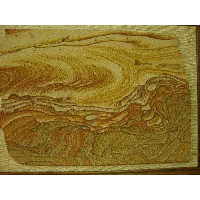 Mid-Century Sandstone Slab Wall Art - Image 3 of 5
