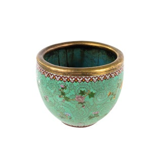 19th Century Antique Chinese Cloisonne Planter