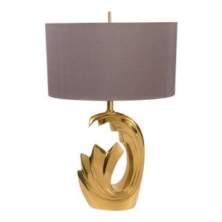 Brass Lamp by Pierre Cardin, 1970's