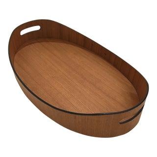 Teak Oval Tray