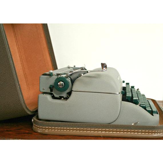 Image of Vintage Remington Quiet Riter Typewriter