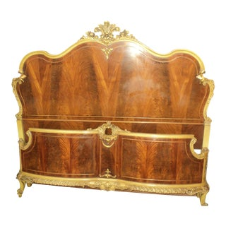Antique French Provincial Full Size Bed