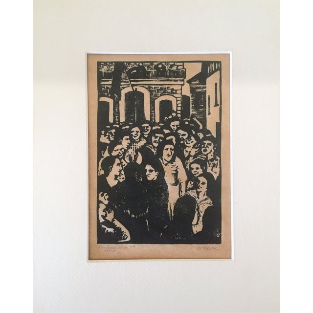 Fay Ostrower Woodblock Print - Image 2 of 6