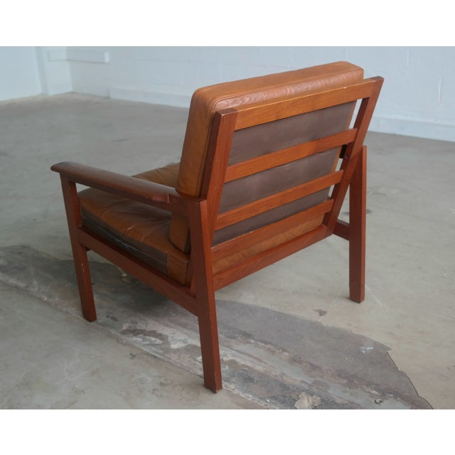 "Illum Wikkelsø ""Capella"" Teak Easy Chair - Image 5 of 9"