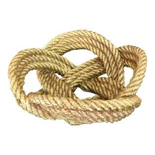 Metal Rope Nautical Bowl