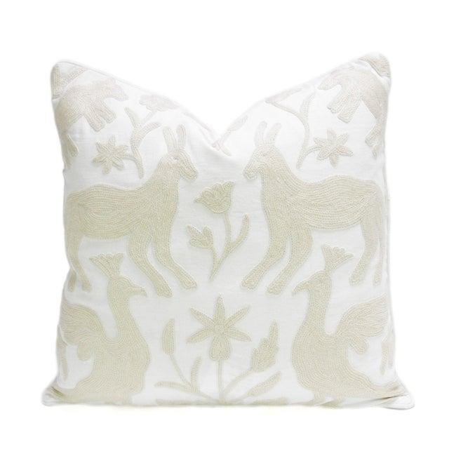 Kashmiri Native Otomi Animal Pillow - Image 2 of 3