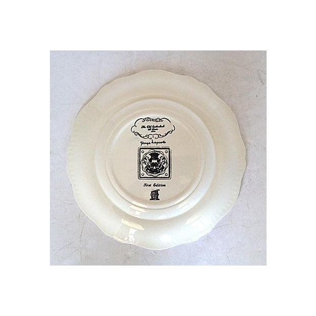 """Copeland Spode's """"The Cathedral"""" Plate - Image 4 of 5"""