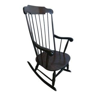 Vintage Spindle Back Windsor Rocking Chair
