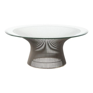 Bronze Warren Platner for Knoll Coffee Table