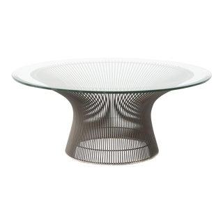 Bronze Warren Platner for Knoll Coffee Table