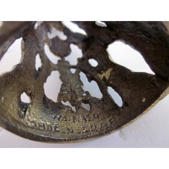 Image of Wainberg Brass Brutalist Candle Holder
