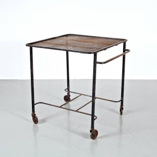 Mathieu Mategot Tea Trolley, circa 1950