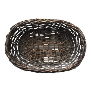 Large Rustic Twig Basket
