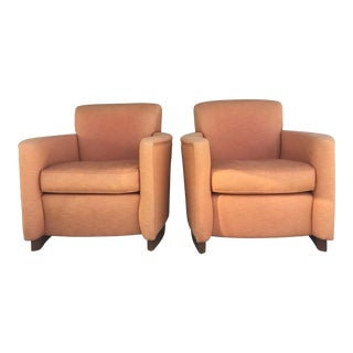 Mid-Century Italian Arm Chairs - A Pair