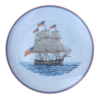 Mottahedeh Clipper Ship Maritime Museum Plate