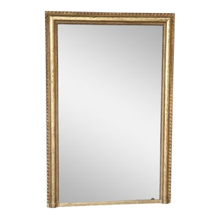 Large 19th Century Gold Mirror