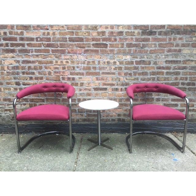 Vintage Thonet Anton Lorenz Chairs - Set of 6 - Image 3 of 11