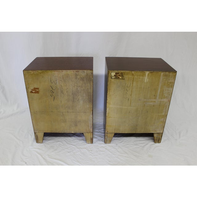 Image of Mid Century Modern John Stuart End Tables