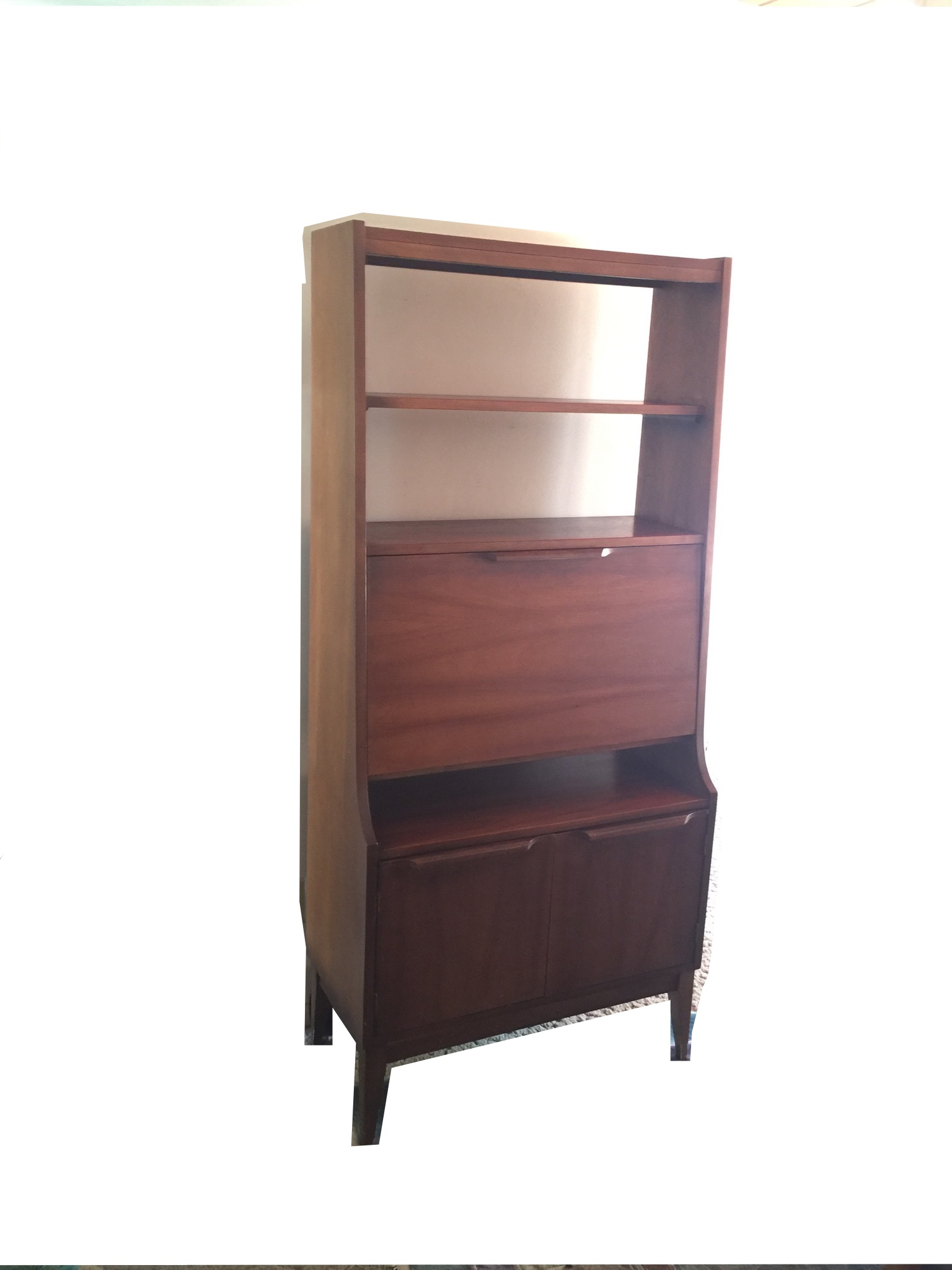 midcentury modern secretary desk chairish