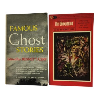Mid-Century Ghost & Horror Stories Book Set - Pair