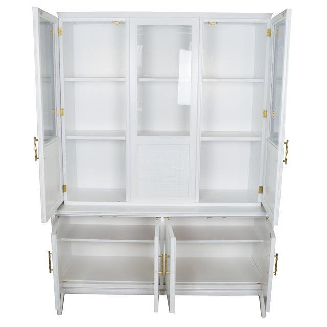 Midcentury Rattan Cabinet - Image 2 of 4