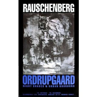 Robert Rauschenberg, Night Shades & Urban Bourbons, 1993 Poster