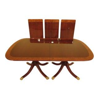 Councill Banded Mahogany Dining Table
