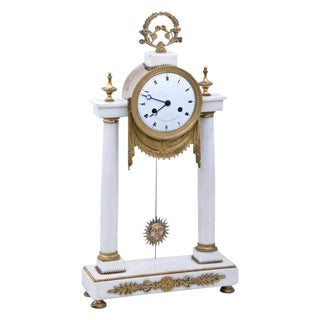 A 19th century French Mantel Clock