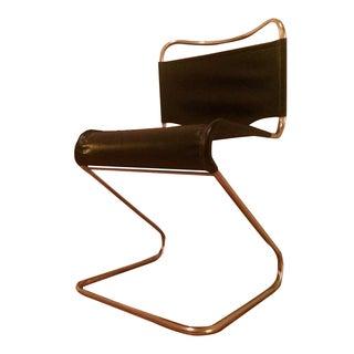 Italian Mid-Century Modern Bauhaus Z-Style Chair