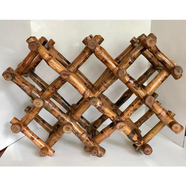 Bamboo Wine Rack - Image 4 of 4