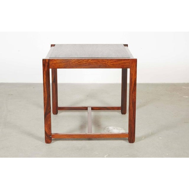 Danish Reversible End Table / Ottoman - Image 7 of 8