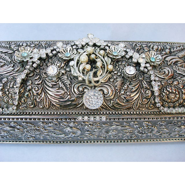 Bejeweled Vintage Keepsake Box - Image 7 of 8