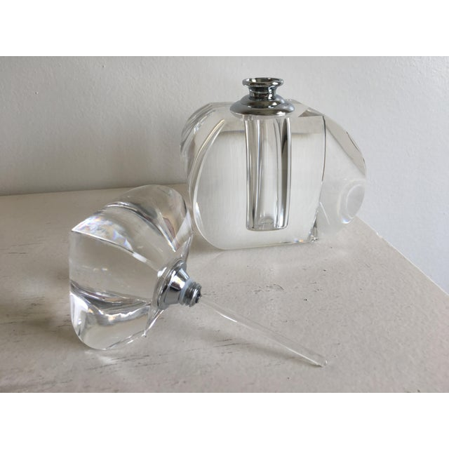 Modern Moroccon Inspired Crystal Glass Perfume Bottle ...