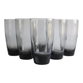 Mid-Century Highball Glasses- Set of 6
