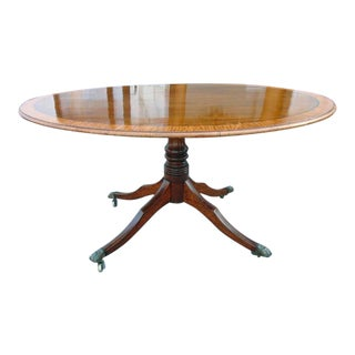 Period George III Mahogany and Satinwood Breakfast Table