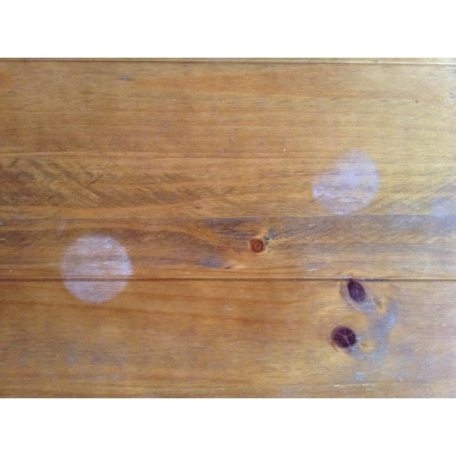 Solid Walnut Wood Coffee Table - Image 6 of 11