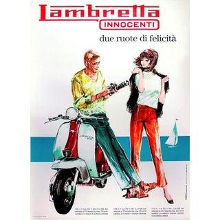 Vintage Italian Poster Lambretta Innocenti