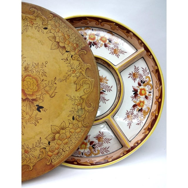 Image of MCM Divided Serving Plate With Matching Box