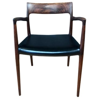 Niels O. Møller Rosewood Captain's Chair