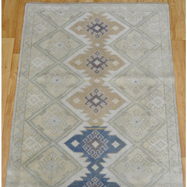"Hand-Knotted Turkish Rug - 2'8"" x 6'9"" - Image 6 of 9"