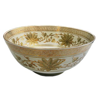 Vintage Handpainted Imari Style Bowl