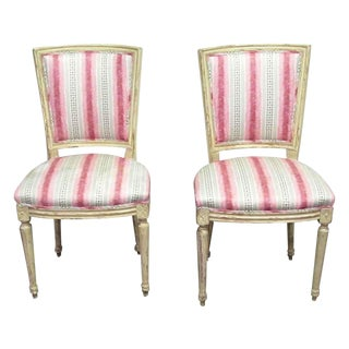 Set of 4 Upholstered Chairs