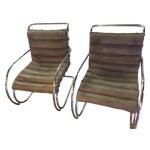 Image of Mies Van Der Rohe Chairs - A Pair
