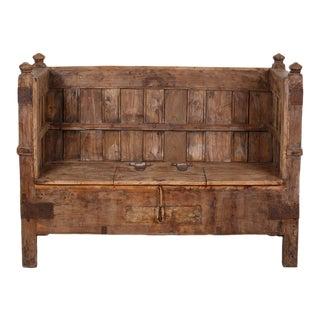 Grand Wooden Box Sofa Bench