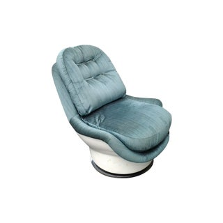 Thayer Coggin Lounge Swivel Chair