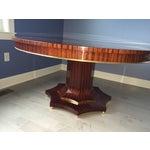 Image of Round Mahogany Dining Set