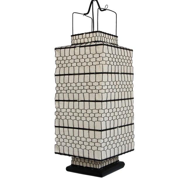 Image of Square Heibe Wire Lantern Medium